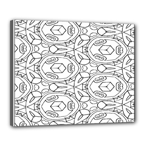 Pattern Silly Coloring Page Cool Canvas 20  X 16