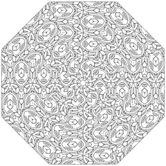 Pattern Silly Coloring Page Cool Folding Umbrellas