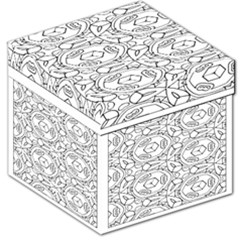Pattern Silly Coloring Page Cool Storage Stool 12
