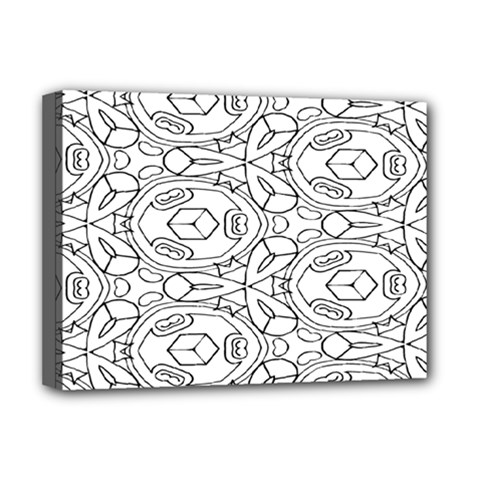 Pattern Silly Coloring Page Cool Deluxe Canvas 16  X 12