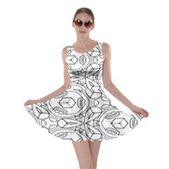 Pattern Silly Coloring Page Cool Skater Dress