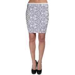 Pattern Silly Coloring Page Cool Bodycon Skirt