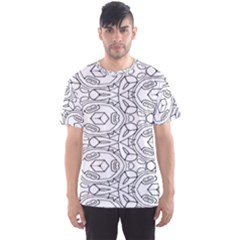 Pattern Silly Coloring Page Cool Men s Sport Mesh Tee