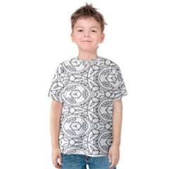 Pattern Silly Coloring Page Cool Kids  Cotton Tee