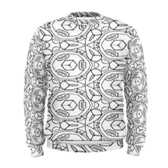 Pattern Silly Coloring Page Cool Men s Sweatshirt