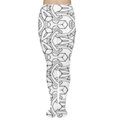Pattern Silly Coloring Page Cool Women s Tights