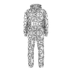 Pattern Silly Coloring Page Cool Hooded Jumpsuit (kids)