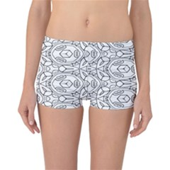 Pattern Silly Coloring Page Cool Reversible Bikini Bottoms