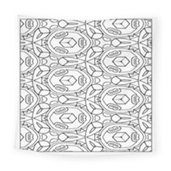 Pattern Silly Coloring Page Cool Square Tapestry (large)