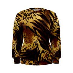 Pattern Tiger Stripes Print Animal Women s Sweatshirt