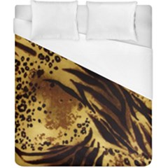 Pattern Tiger Stripes Print Animal Duvet Cover (california King Size)