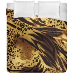 Pattern Tiger Stripes Print Animal Duvet Cover Double Side (california King Size)