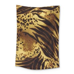 Pattern Tiger Stripes Print Animal Small Tapestry