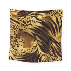Pattern Tiger Stripes Print Animal Square Tapestry (small)