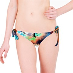 Ocean Waves Birds Colorful Sea Bikini Bottom