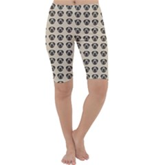 Puppy Dog Pug Pup Graphic Cropped Leggings