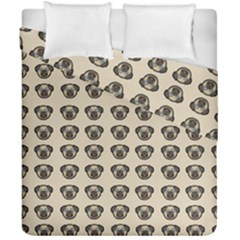 Puppy Dog Pug Pup Graphic Duvet Cover Double Side (california King Size)