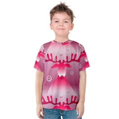 Seamless Repeat Repeating Pattern Kids  Cotton Tee