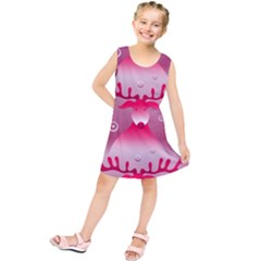 Seamless Repeat Repeating Pattern Kids  Tunic Dress
