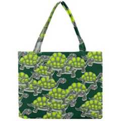 Seamless Tile Background Abstract Turtle Turtles Mini Tote Bag