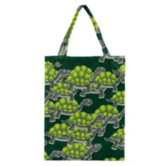 Seamless Tile Background Abstract Turtle Turtles Classic Tote Bag
