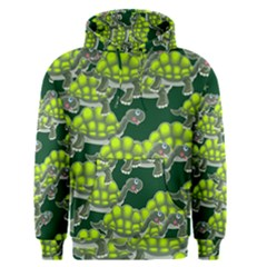 Seamless Tile Background Abstract Turtle Turtles Men s Pullover Hoodie