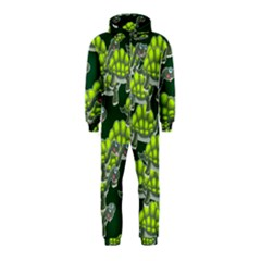 Seamless Tile Background Abstract Turtle Turtles Hooded Jumpsuit (kids)
