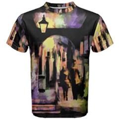 Street Colorful Abstract People Men s Cotton Tee