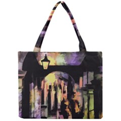 Street Colorful Abstract People Mini Tote Bag