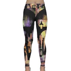 Street Colorful Abstract People Classic Yoga Leggings