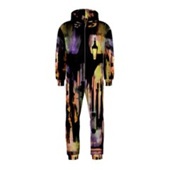 Street Colorful Abstract People Hooded Jumpsuit (kids)