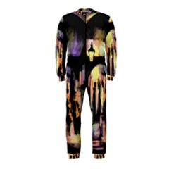 Street Colorful Abstract People Onepiece Jumpsuit (kids)