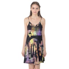 Street Colorful Abstract People Camis Nightgown