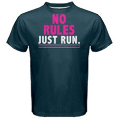 No rules just run - Men s Cotton Tee
