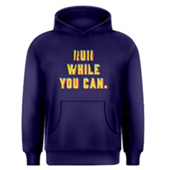 Run While You Can   Men s Pullover Hoodie