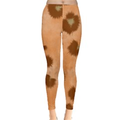 Seamless Tile Background Abstract Leggings