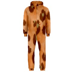 Seamless Tile Background Abstract Hooded Jumpsuit (men)