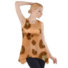 Seamless Tile Background Abstract Side Drop Tank Tunic