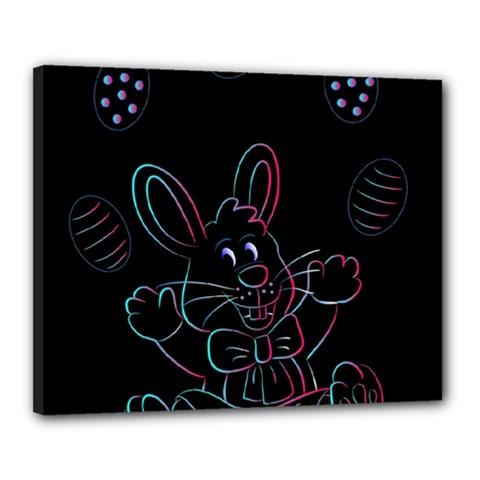Easter Bunny Hare Rabbit Animal Canvas 20  X 16