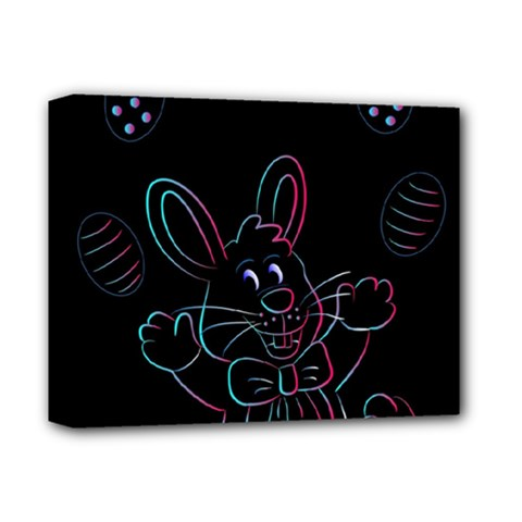 Easter Bunny Hare Rabbit Animal Deluxe Canvas 14  X 11