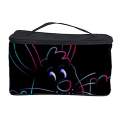 Easter Bunny Hare Rabbit Animal Cosmetic Storage Case