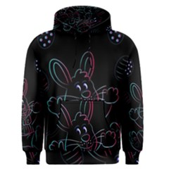 Easter Bunny Hare Rabbit Animal Men s Pullover Hoodie