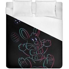 Easter Bunny Hare Rabbit Animal Duvet Cover (california King Size)