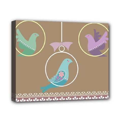 Isolated Wallpaper Bird Sweet Fowl Canvas 10  X 8