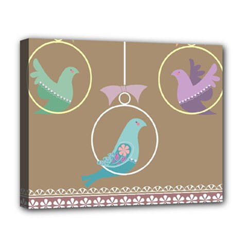 Isolated Wallpaper Bird Sweet Fowl Deluxe Canvas 20  X 16