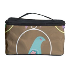 Isolated Wallpaper Bird Sweet Fowl Cosmetic Storage Case