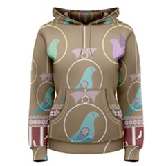 Isolated Wallpaper Bird Sweet Fowl Women s Pullover Hoodie