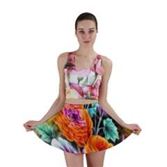 Flowers Artwork Art Digital Art Mini Skirt