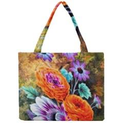 Flowers Artwork Art Digital Art Mini Tote Bag