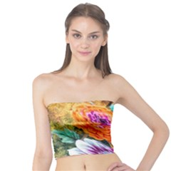 Flowers Artwork Art Digital Art Tube Top